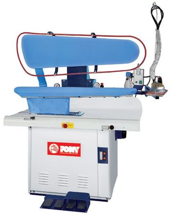dry cleaning press